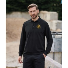14th/20th King's Hussars Long Sleeve Polo